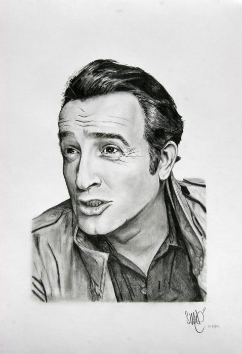 Jean Dujardin by MIKA.SMACK